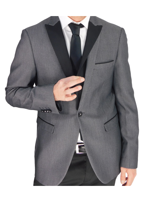 Traje smoking slim fit...