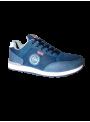 calzado hombre zapatilla sport deportiva Dunlop cordones azul tejano