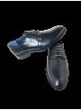Calzado hombre zapato vestir piel traje piel vacuna cordones color negro