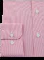 camisa hombre regular fit vestir traje logo caballo polo rosa