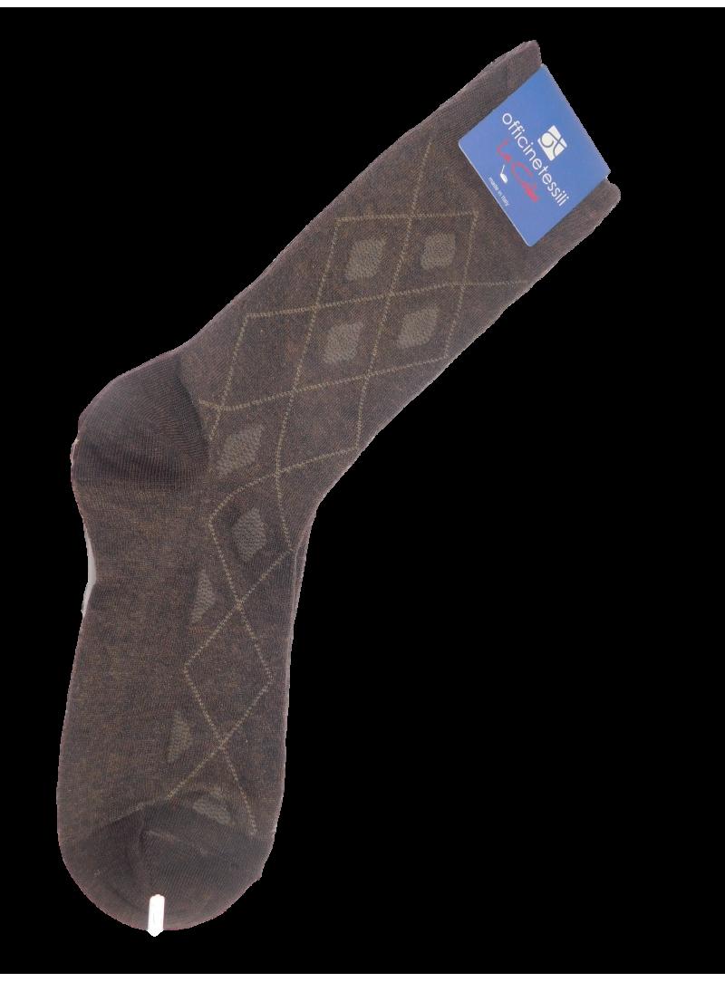 calcetines hombre rombos algodon alta calidad