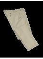 pantalon italiano hombre slim fit algodon elastico tipo chino beige