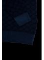 Jersey lana hombre estampado invierno azul