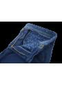 Pantalón sport vestir chino hombre algodon invierno color azul