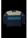 camiseta polo hombre algodon manga larga estampado rayas con bolsillo
