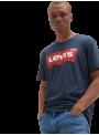 Camiseta algodón primavera verano LEVIS azul marino manga corta