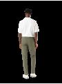 pantalón bolsillo frances hombre DOCKERS algodón elástico primavera verano verde