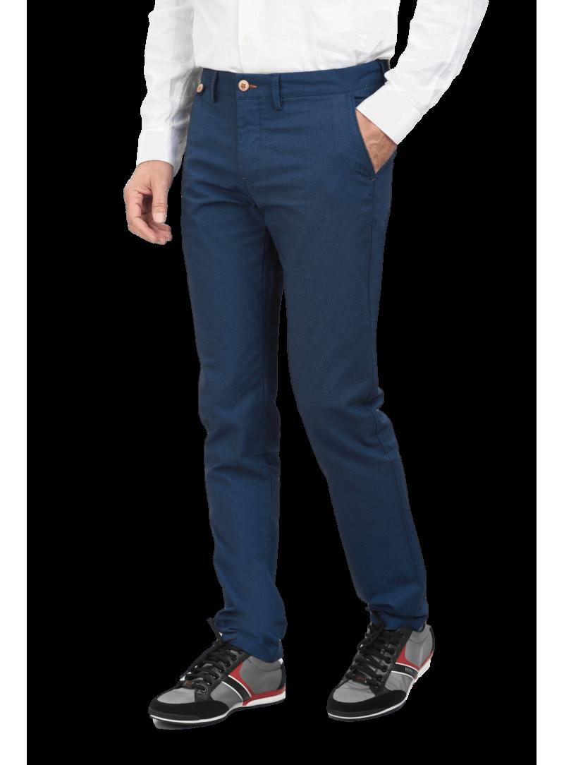 pantalón bolsillo frances hombre algodon elastico primavera verano