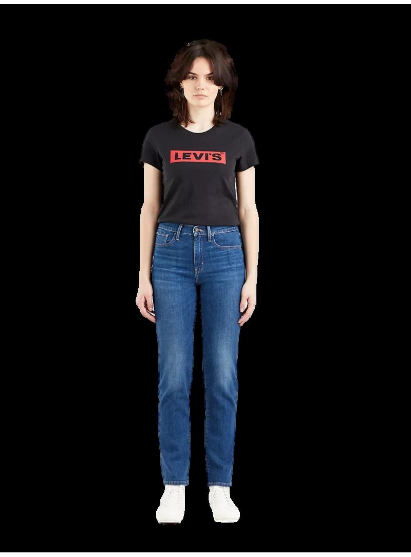 vaquero Levis chica cintura alta regular fit