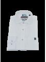 camisa hombre manga larga verano lino blanco