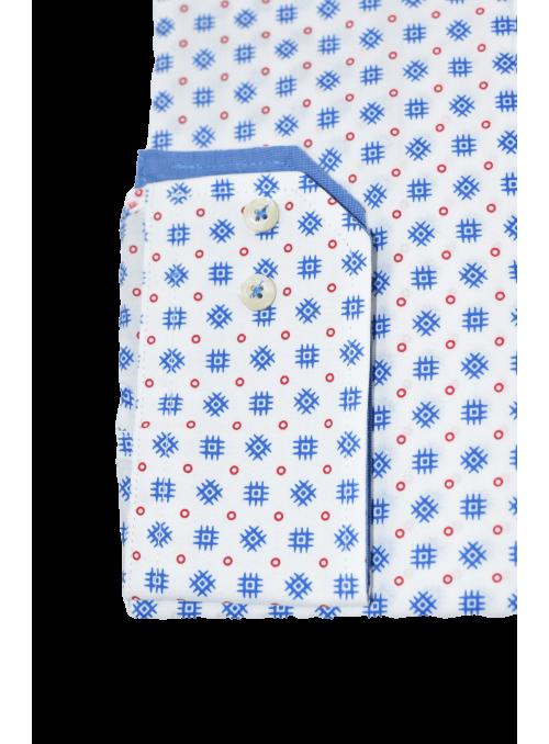 Camisa La Jaca estampado retro