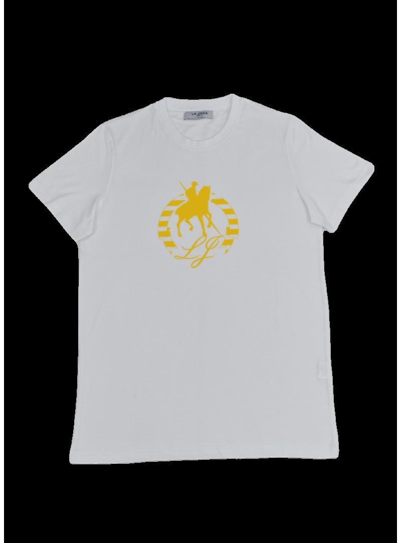 camiseta hombre manga corta verano algodón La Jaca