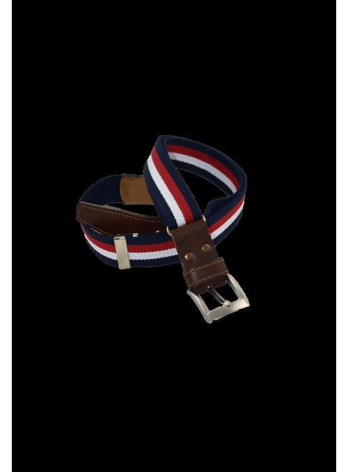 Cinturón ajustable rayas