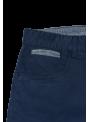 pantalón corto bermuda hombre algodón azul marino