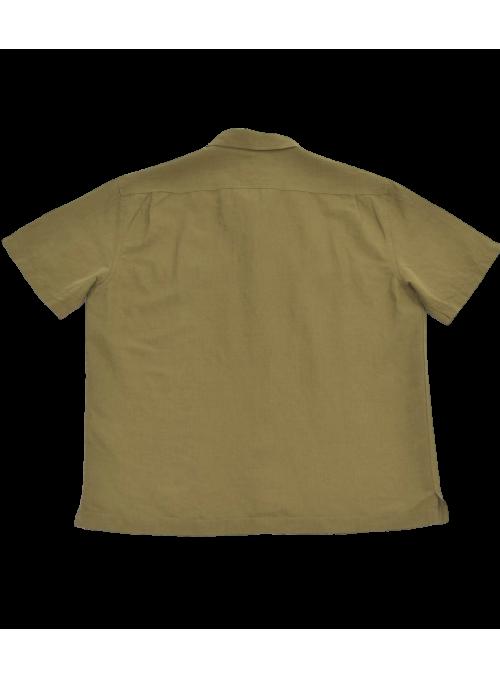 Camisa lino cuello bowling Lee