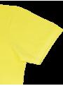 Camiseta polo hombre manga corta primavera verano colores fluor algodón amarillo