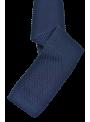 Corbata de punto hombre moda estampada azul