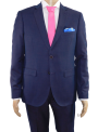 Traje hombre boda ceremonia regular fit granate tornasol