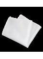 Pañuelo de bolsillo americana traje color blanco brillo