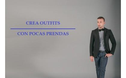 Crea varios outfits con pocas prendas