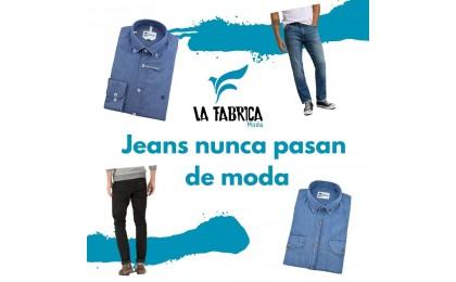 Los Jeans nunca pasan de moda